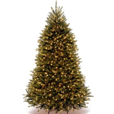 National Tree Co Dunhill Fir 4 5 39 Hinged Green Artificial