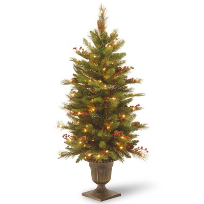 National Tree Co 4 39 Green Pine Artificial Christmas Tree