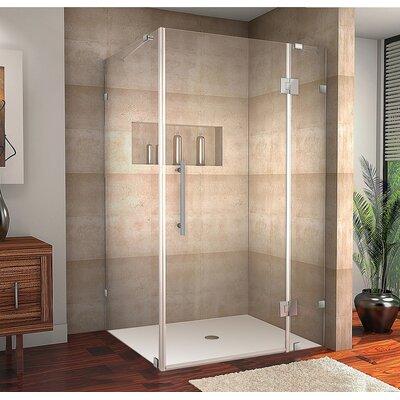 Aston avalux 42 x 36 x 72 completely frameless hinged shower aston avalux 42 x 36 x 72 completely frameless hinged shower enclosure reviews wayfair planetlyrics Gallery