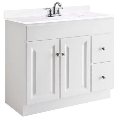 """Bathroom Vanity Base design house wyndham 36"""" single bathroom vanity base & reviews"""