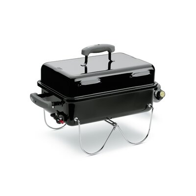 Cool Weber Go-Anywhere Portable Gas Grill & Reviews | Wayfair CB36