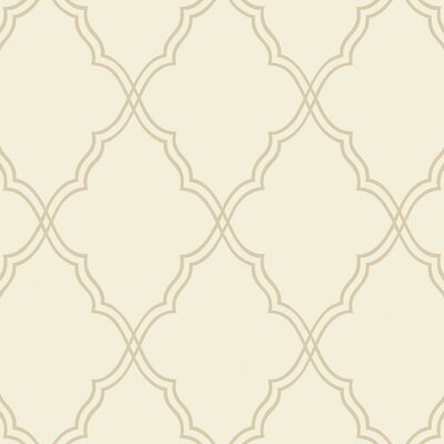 York Wallcoverings Candice Olson II Moroccan 27 x 27 Foiled
