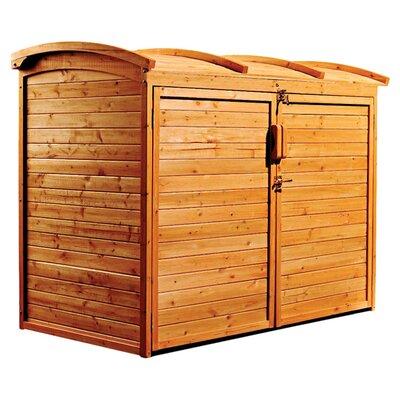 Leisure Season 5 Ft. 2 In. W X 2 Ft. 10 In. D Wooden Horizontal Garbage Shed  U0026 Reviews | Wayfair