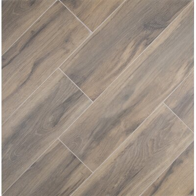 Msi Botanica Cashew 6 X 24 Porcelain Wood Tile In Glazed Textured Reviews Wayfair