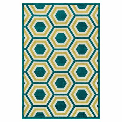 Loloi Rugs Catalina Green/Yellow Indoor/Outdoor Area Rug U0026 Reviews | Wayfair