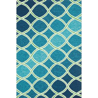 Loloi Rugs Venice Beach Handmade Blue/Green Indoor/Outdoor Area Rug U0026  Reviews | Wayfair
