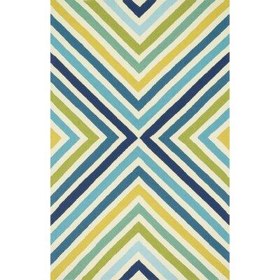 Marvelous Loloi Rugs Palm Springs Hand Woven Blue/Green Area Rug | Wayfair