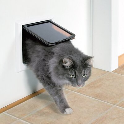 & Trixie 4 Way Cat Door with Tunnel \u0026 Reviews | Wayfair Pezcame.Com
