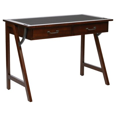 osp designs dorset writing desk with 2 drawers reviews wayfair - Designer Writing Desk