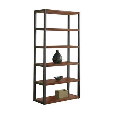 "haaken furniture parson 76"" etagere bookcase | wayfair"