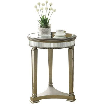 - Monarch Specialties Inc. Mirrored End Table & Reviews Wayfair