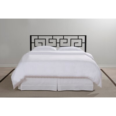 in style furnishings greek key open frame headboard reviews wayfair - Bed Frame And Headboard