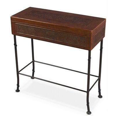 Attractive Sarreid Ltd Botanical Leather End Table U0026 Reviews | Wayfair