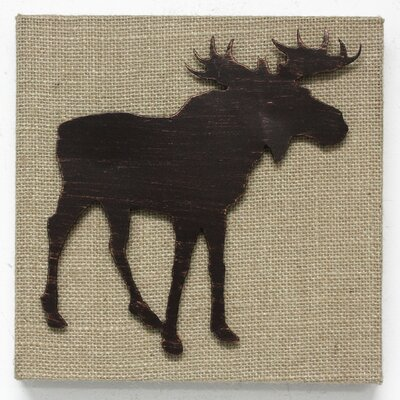 Moose Wall Decor fetco home decor stacy moose wall décor | wayfair