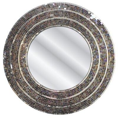 fetco home decor sahlu mosaic 3 tiered mirror & reviews | wayfair