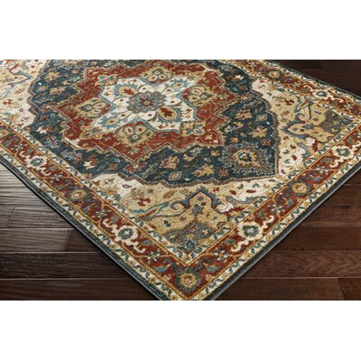 Artistic Weavers Nicea Rufus Brown/Teal Area Rug U0026 Reviews | Wayfair