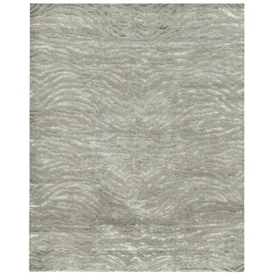 Beautiful AMER Rugs Synergy Jungsi Design Hand Knotted Sage Green Area Rug | Wayfair