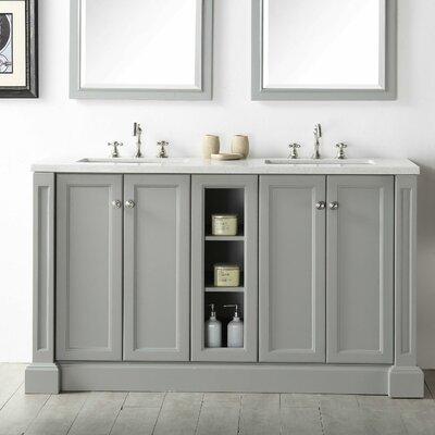 Legion Furniture 60 Double Vanity Set Reviews Wayfair