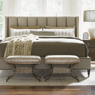 Lexington Tower Place Upholstered Panel Bed & Reviews | Wayfair