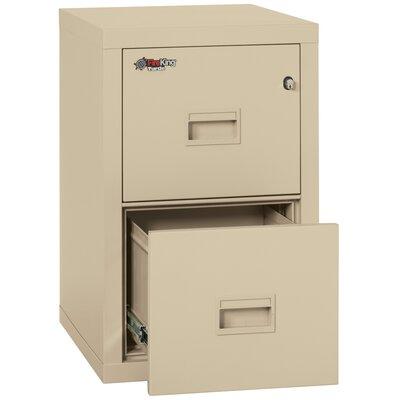 FireKing Turtle Fireproof 2-Drawer Vertical File Cabinet ...