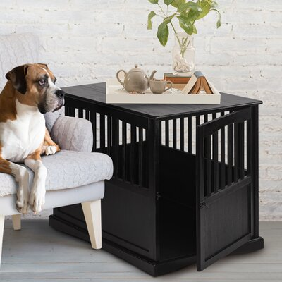 Casual Home casual home pet crate end table & reviews   wayfair