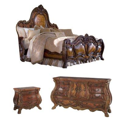 Michael Amini Chateau Beauvais Panel Configurable Bedroom Set U0026 Reviews |  Wayfair