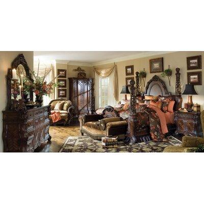 Michael Amini Essex Manor Four Poster Customizable Bedroom Set U0026 Reviews |  Wayfair