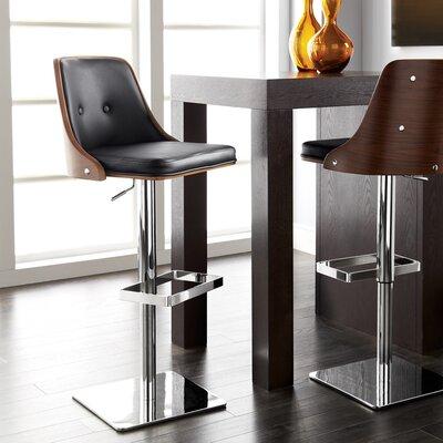 sunpan modern urban unity braiden adjustable height swivel bar stool u0026 reviews wayfair