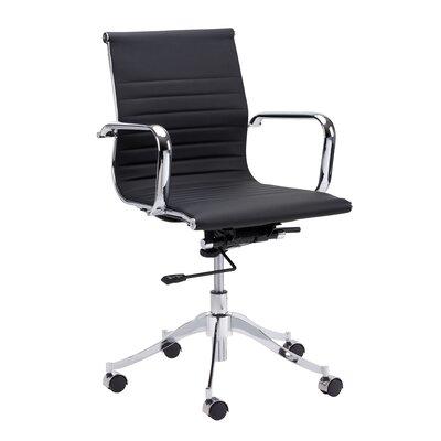sunpan modern urban unity tyler mid-back office chair & reviews