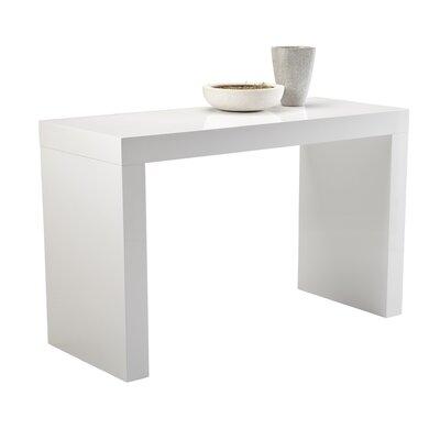 sunpan modern ikon faro cshape counter height dining table u0026 reviews wayfair