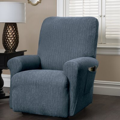 Innovative Textile Solutions Heather Stripe Stretch Recliner Slipcover & Reviews