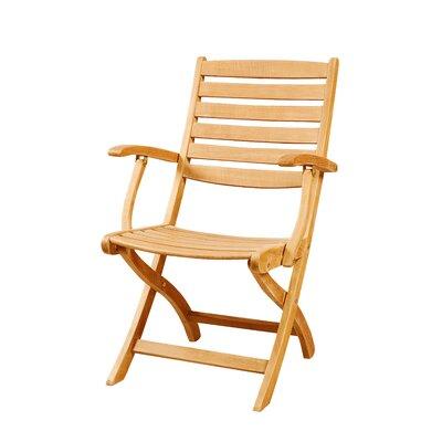 HiTeak Furniture Wood Folding Chair | Wayfair.ca