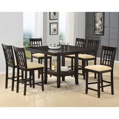 Hillsdale Tabacon 7 Piece Dining Set Reviews Wayfair