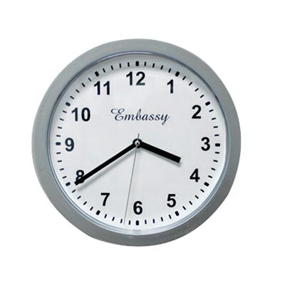 "Trademark Home Collection 10"" Wall Clock Safe"