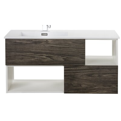 "cutler kitchen & bath sangallo 42"" single bathroom vanity"