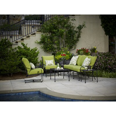 Meadowcraft Monticello 5 Piece Deep Seating Group With Cushions U0026 Reviews    Wayfair