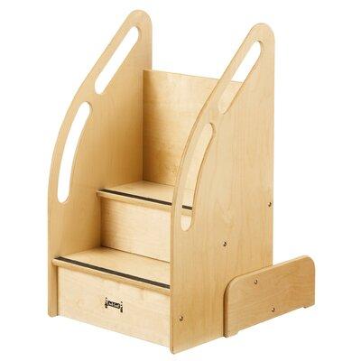 jonticraft kydz suite upndown step stool with storage u0026 reviews wayfair - Jonti Craft