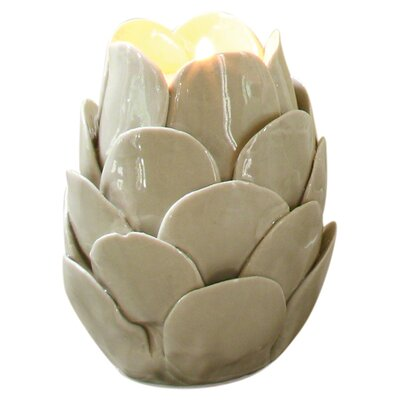 global views artichoke ceramic tealight candle holder u0026 reviews wayfair - Tea Light Candle Holders