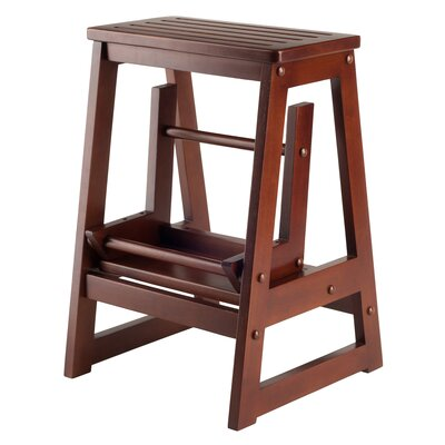 Winsome 2-Step Wood Step Stool with 200 lb. Load Capacity u0026 Reviews | Wayfair  sc 1 st  Wayfair & Winsome 2-Step Wood Step Stool with 200 lb. Load Capacity ... islam-shia.org