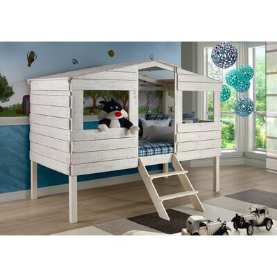 Donco Kids Tree House Twin Low Loft Bed & Reviews