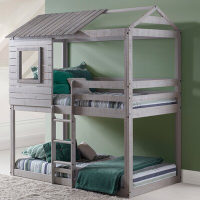 Donco Kids Twin Bunk Bed & Reviews