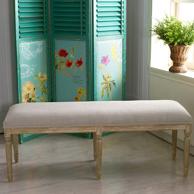 Lark Manor Hadrien Wood Bedroom Bench Reviews Wayfair. Wood Bedroom Bench   louisvuittonukonlinestore com