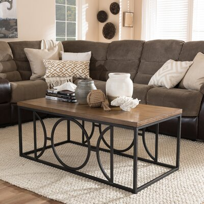 wholesale interiors baxton studio coffee tables & reviews | wayfair