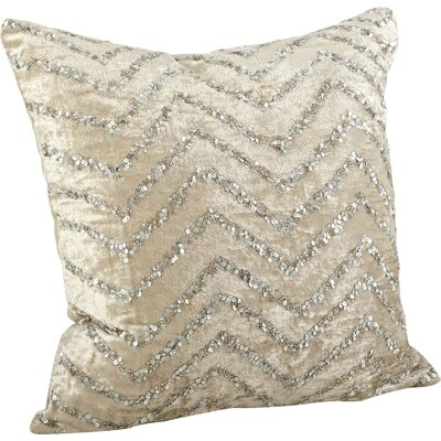 Velvet sequin pillow