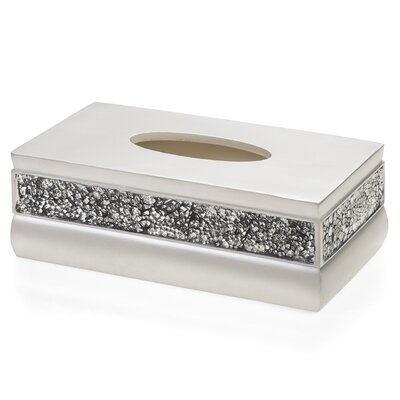 Creative Scents Brushed Nickel Tissue Box Cover Reviews Wayfair