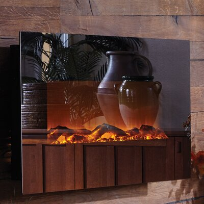 Touchstone Mirror Onyx™ Wall Mount Electric Fireplace & Reviews ...