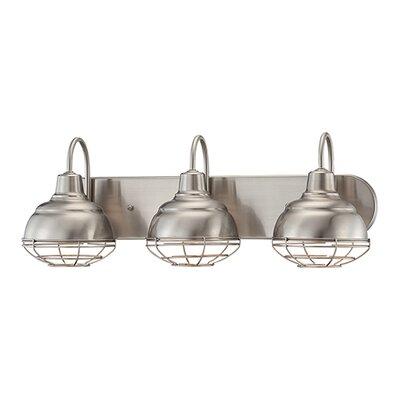 millennium lighting neo industrial 3 light vanity light reviews. Black Bedroom Furniture Sets. Home Design Ideas