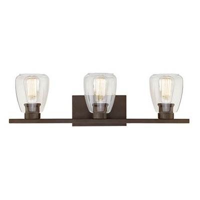 Bathroom Vanity Lights Austin Tx trent austin design la habra heights 3-light vanity light