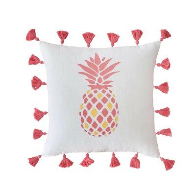 southern tide coastal embroidered pineapple cotton throw pillow u0026 reviews wayfair
