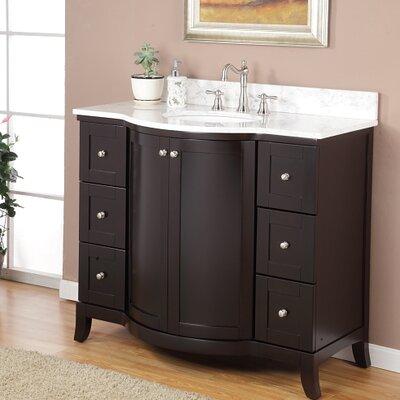 "valore astoria 42"" single bathroom vanity set & reviews | wayfair"